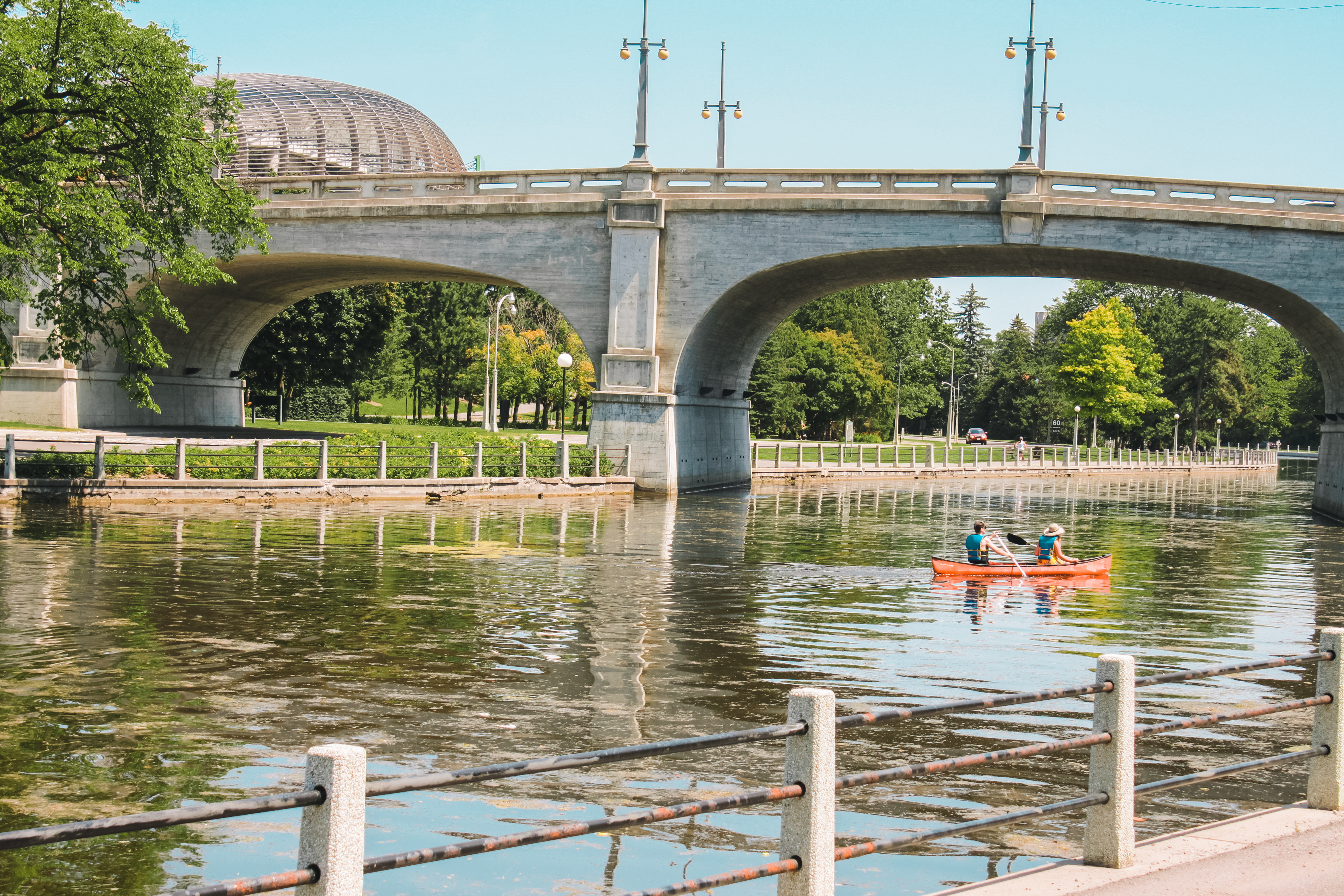 Canoeing in the Glebe, Rideau Canal