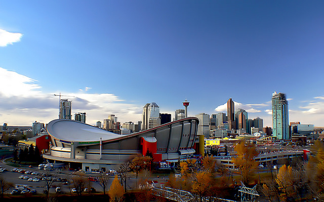 Calgary Downtown Skyline Apartment Rentals Rental Attraction