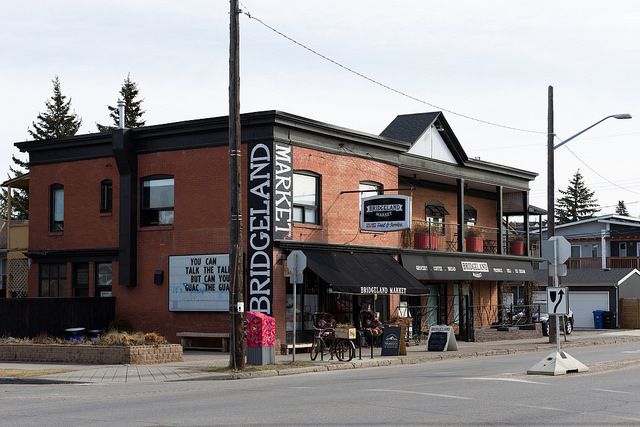 Bridgeland Neighbourhood Guac Calgary Storefront Store Rental House