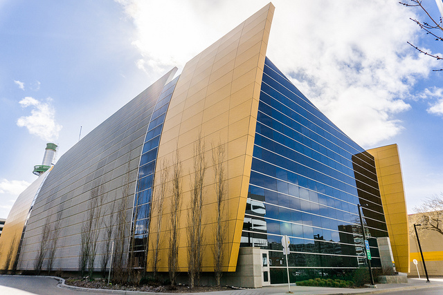University of Alberta cooling paint building in Edmonton