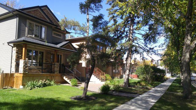 Hazeldean Edmonton Residential near trees