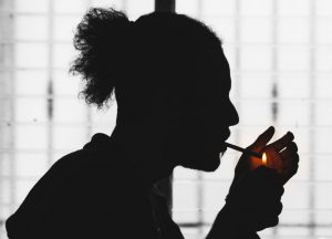 Male Smoking Under New Marijuana Laws