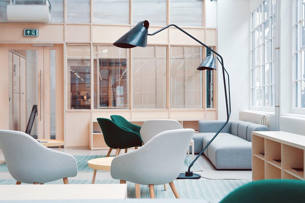 Modern Interior Design Room for Rental Property Staging