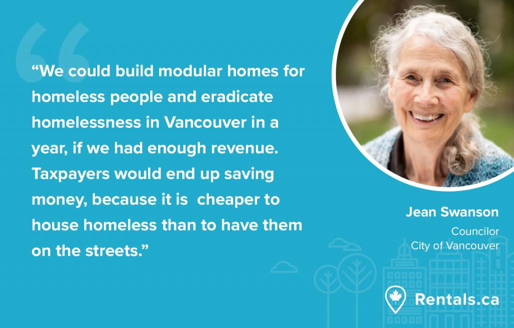Jean Swanson Vancouver Councilor