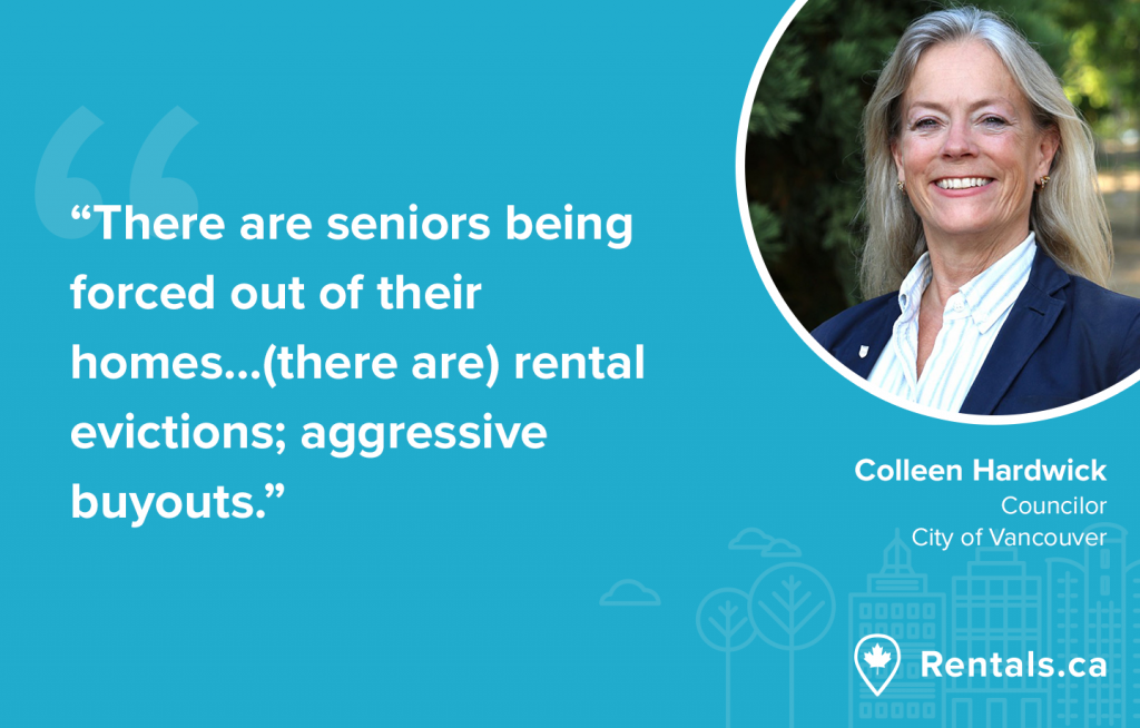 Colleen Hardwick Vancouver Councilor Housing Affordability