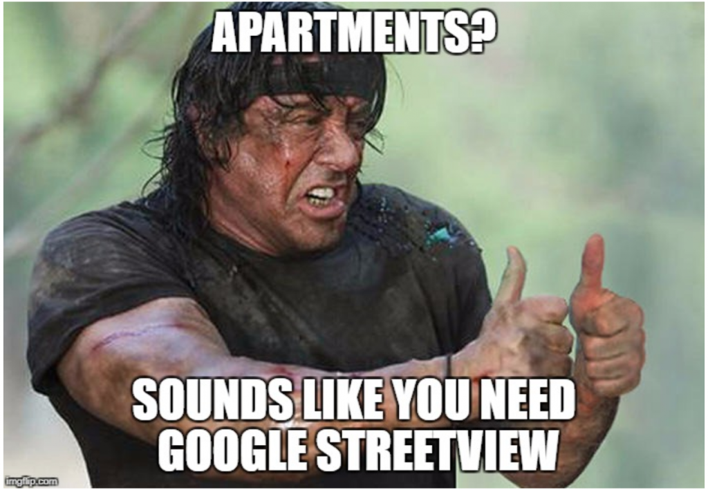 streetview rent faster apartments in Clagary